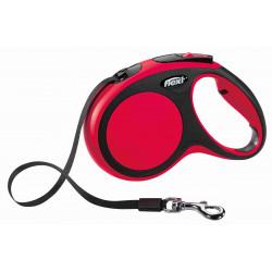 FLEXI SMYCZ New Comfort, TAŚMA 5m, Rozm. M, CZERWONA [FL-8247]