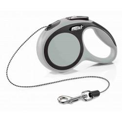 FLEXI SMYCZ New Comfort, SZNUREK/ XS, 3 m, SZARA [FL-8735]