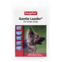 BEAPHAR GENTLE LEADER L - obroża duża czerwona dla psów