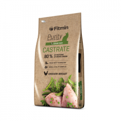 FITMIN cat Purity castrate 0,4kg