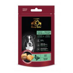 CHAMP-RICHER smakołyki dla psów na skórę i sierść z kaczką 90 g
