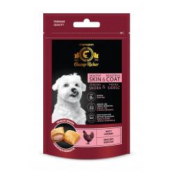 CHAMP-RICHER smakołyki dla psów na skórę i sierść z kurczakiem 90 g