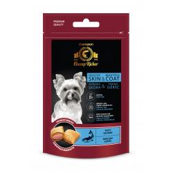 CHAMP-RICHER smakołyki dla psów na skórę i sierść z łososiem 90 g