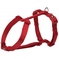 TRIXIE Szelki Premium, L: 60–80 cm/25 mm, czerwone [TX-204903]