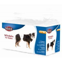TRIXIE Pieluchy dla psów, L–XL: 60–80 cm, 12 szt/opak [TX-23643]