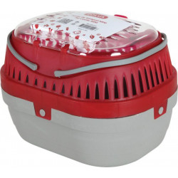 ZOLUX Transporter dla gryzoni mini 17x23x16 cm kol. czerwony [208010]