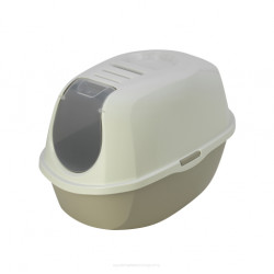 YARRO Toaleta z filtrem Eco-line kolor classic 53x39x41cm ciepły szary [Y3410-0958 S]