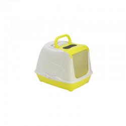 YARRO Toaleta FLIP nr 1 z filtrem i łopatką, kolor fun, 39x50x37cm lemon [Y3411-0797 LEM]
