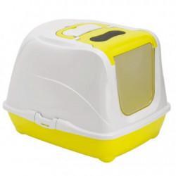 YARRO Toaleta FLIP nr 2 z filtrem i łopatką, kolor fun, 45x58x42cm lemon [Y3417-0746 LEM]