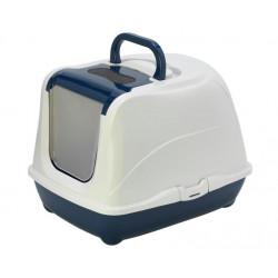 YARRO Toaleta FLIP nr 2 z filtrem i łopatką, kolor classic, 45x58x42cm granatowa [Y3418-0732 G]