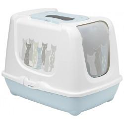 YARRO Toaleta Trendy z filtrem i łopatką dla kota - Masai, 39,5x50x37,5cm [Y3454-1776]