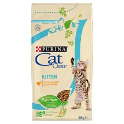 PURINA CAT CHOW KITTEN Bogata w kurczaka 1,5kg