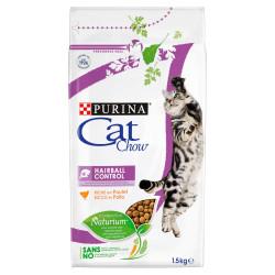 PURINA CAT CHOW SPECIAL CARE Hairball Control Bogata w kurczaka 1,5kg