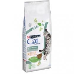 PURINA CAT CHOW SPECIAL CARE Sterilized Bogata w kurczaka 15kg