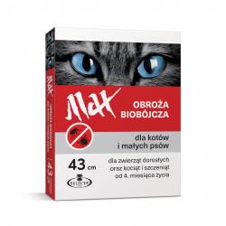 SELECTA Obroża biobójcza Max 43 czerwona