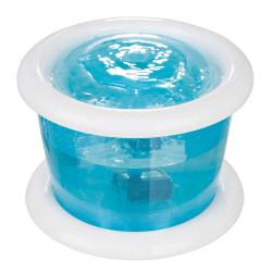 TRIXIE Automatyczne poidło Bubble Stream, niebiesko/białe 3l [TX-24464]