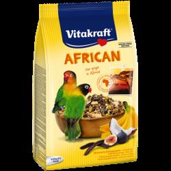 VITAKRAFT AFRICAN 750g karma d/pap. afrykańskich