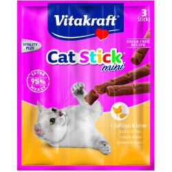 VITAKRAFT CAT STICK MINI 3szt drób-wątróbka