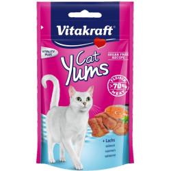 VITAKRAFT CAT YUMS ŁOSOŚ 40g przysmak d/kota