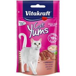 VITAKRAFT CAT YUMS WĄTRÓBKA 40g przysmak d/kota