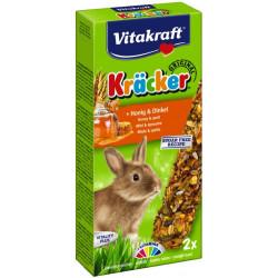 VITAKRAFT KRACKER 2szt d/królika miód/orkisz