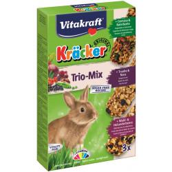 VITAKRAFT KRACKER 3szt d/królika owo leś/orze/warz