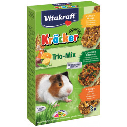VITAKRAFT KRACKER 3szt d/świnki cytrusy/miód/warzy