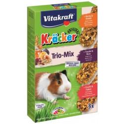 VITAKRAFT KRACKER 3szt d/świnki miód/orzech/owoc