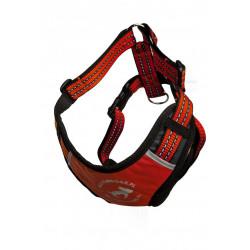 ALL FOR DOGS Sportowe Szelki Czerwone XS