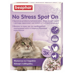 BEAPHAR NO STRESS SPOT ON CAT 0,4ML - 3 pipety dla kotów