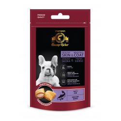 CHAMP-RICHER smakołyki dla psów na skórę i sierść z dorszem 90 g